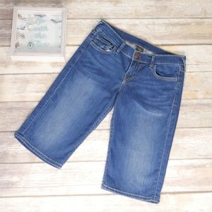 True Religion Savannah Bermuda Jean Shorts Size 29